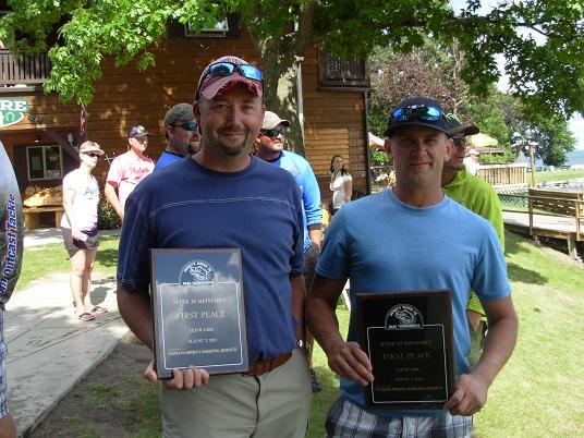 2013 Leech Lake Winners Josh Leesburg Trevor Baer