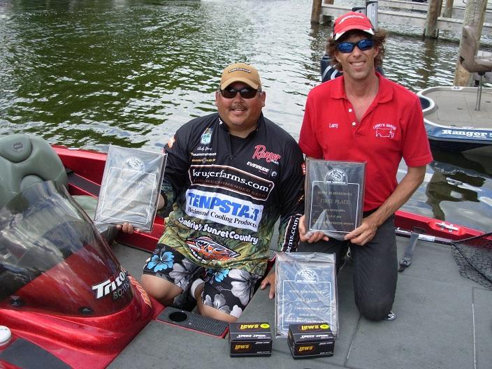Larry Wittig & Andy Young 6-17-2013 Super 30 Minnetonka Winners