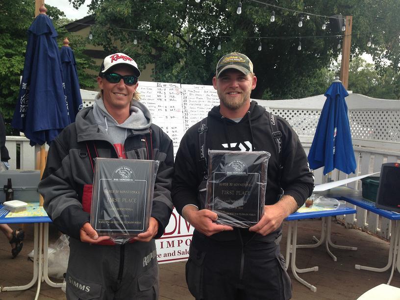 7-14-2014 Super 30 Minnetonka 1st place winners Seth Feider John Figi
