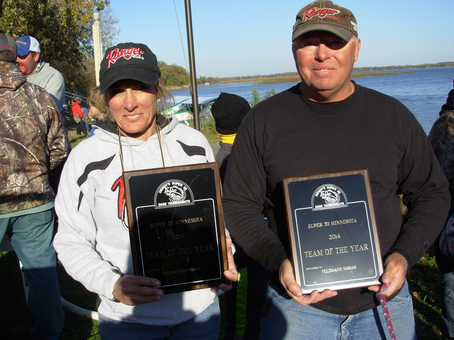 2014 Super 30 Minnesota Bass Tournament Team of the Year
