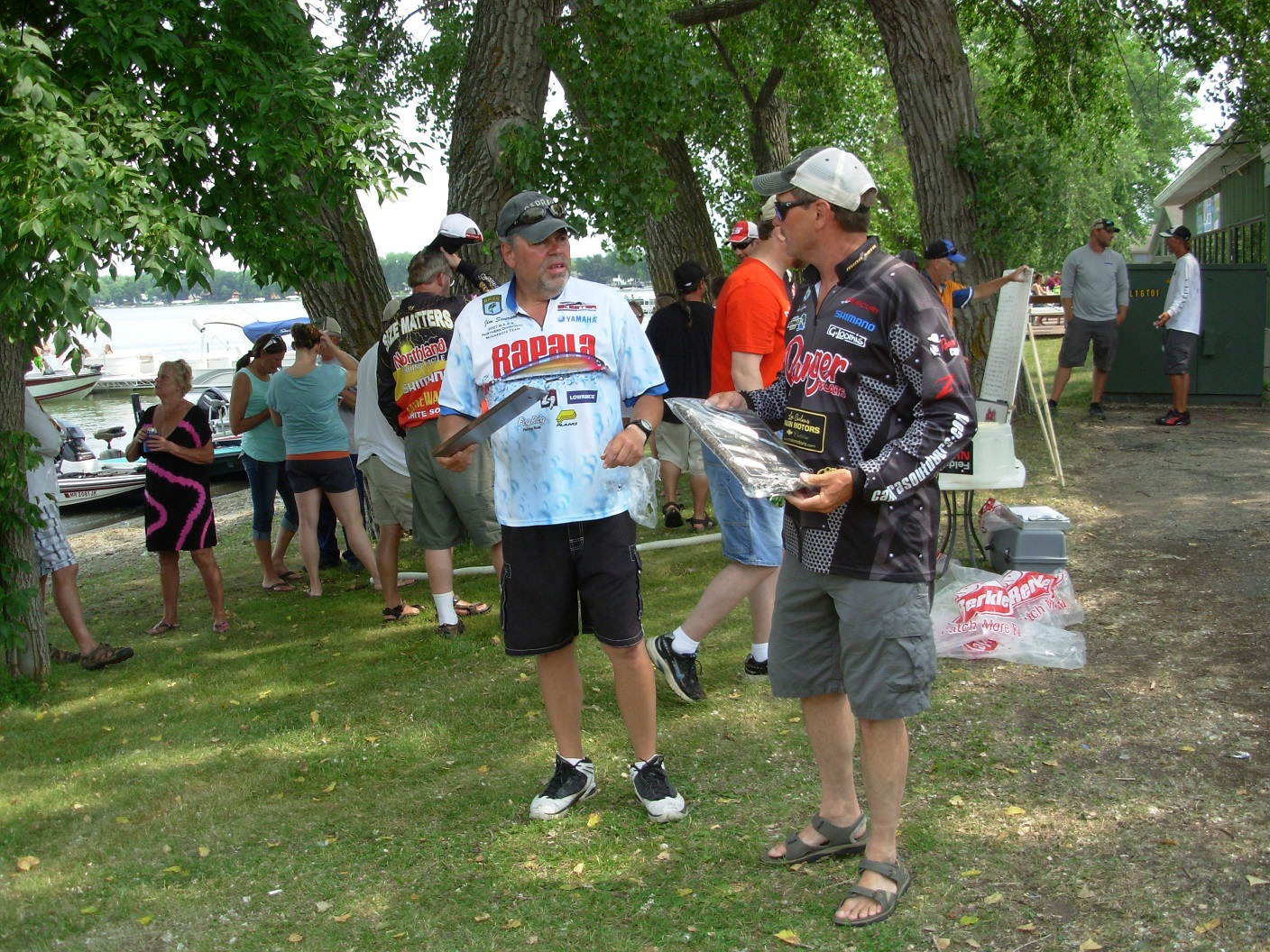 Jim Severson Dean Capra Minnewaska Bass Tournament Champions