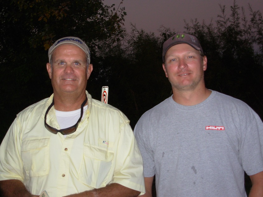 9-25-2014 Thursday Night Bassin Minnetonka 1st place Kris Kuehn Mike Brill