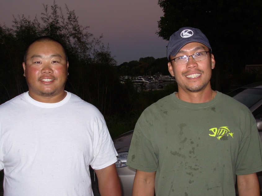 9-25-2014 Thursday Night Bassin Minnetonka 2nd place Peter Lo & Nhia Yang
