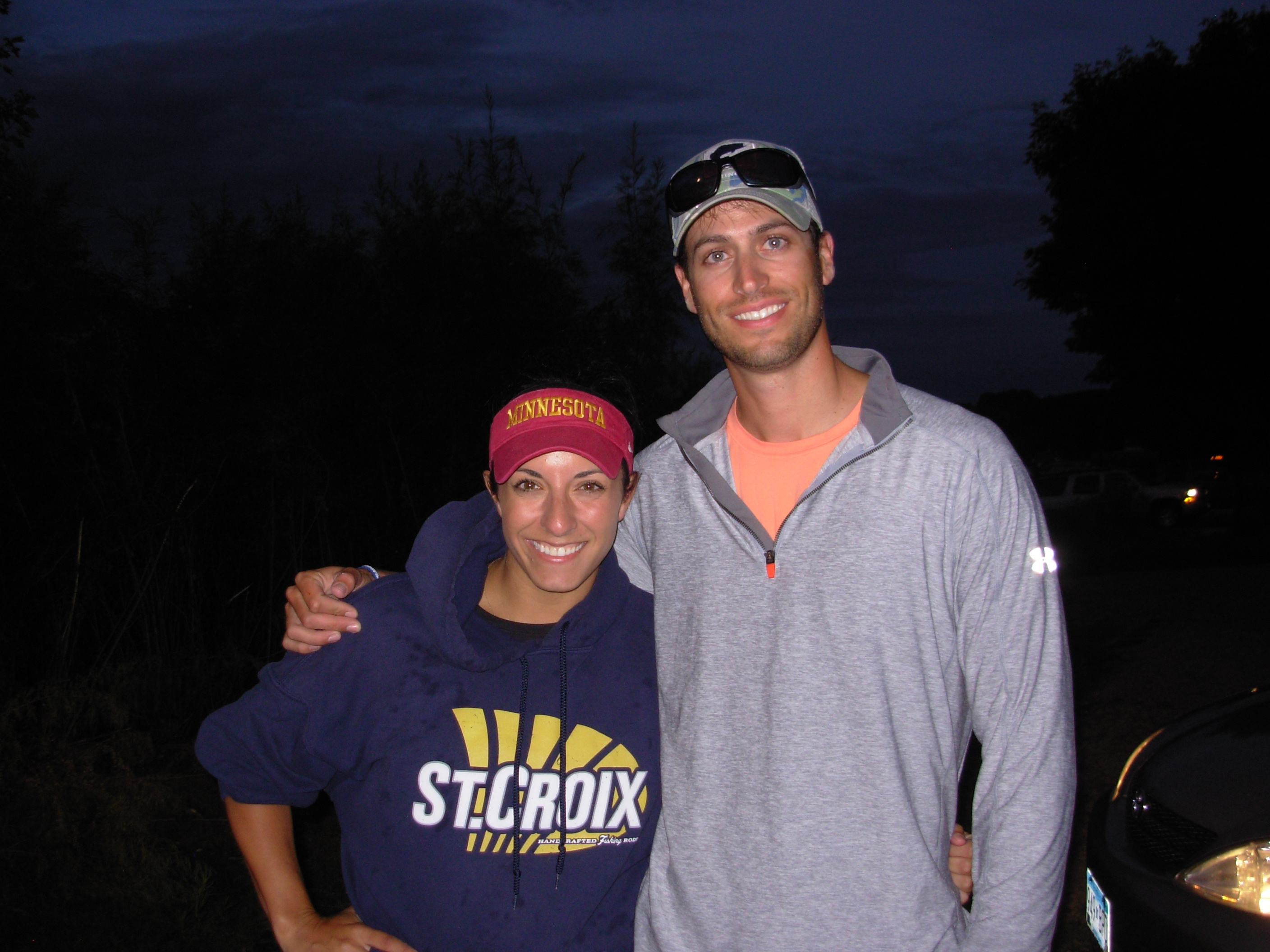 8-26-2014 Tuesday Night Bassin Minnetonka 2nd place winners Nicole Jacobs & Colby Bolin