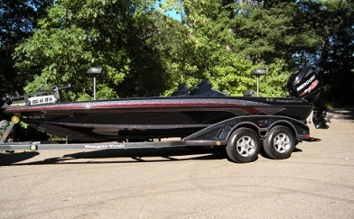 like new Ranger Z521 bass boat on sale
