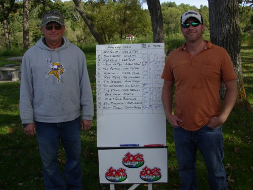 2015 Horse shoe chain bass tournament