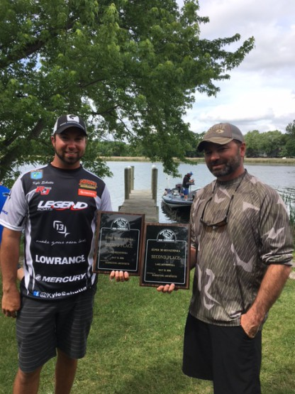 Bass Tournament Winners Schutta Amiot
